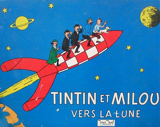 Tintin et Milou en Francais Règle du Jeu Tintin et Milou